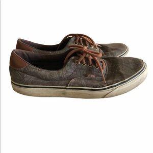 Vans Era 59 Low Cut Canvas Paisley Camo Sneakers
